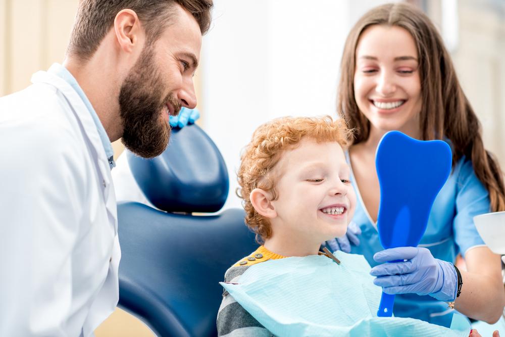 When Should Children Have Their First Dental Visit? - Desert